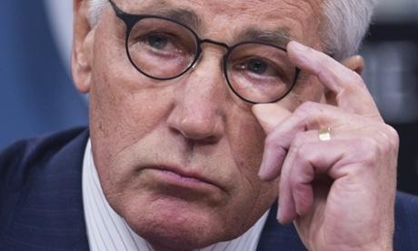 Chuck Hagel forced to step…