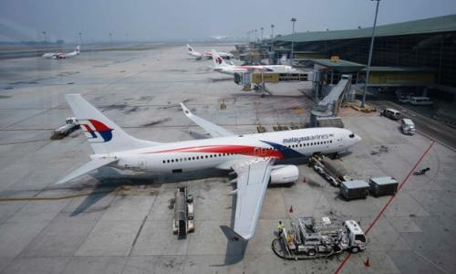 Malaysia Airlines plane 'crashes in…