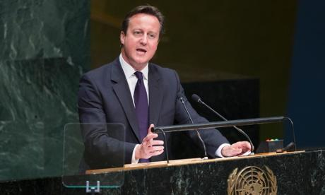 David Cameron urges unity…