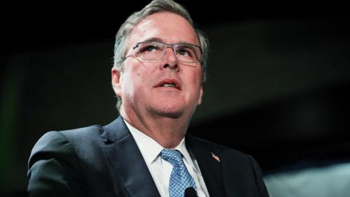 Jeb Bush defends calling illegal…