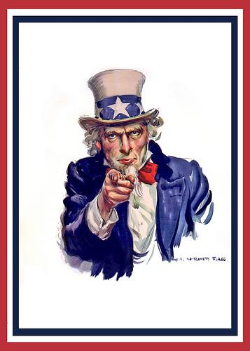 Uncle Sam = Big Brother?