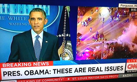 Obama on Ferguson: appeal for peace…