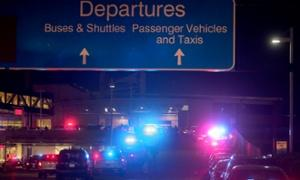 Police at New Orleans international…