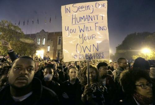 Largest Ferguson Demonstration Yet Ends…