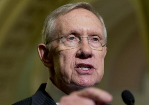 Harry Reid, who stiffed Republicans for…