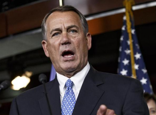 John Boehner: 'The House…