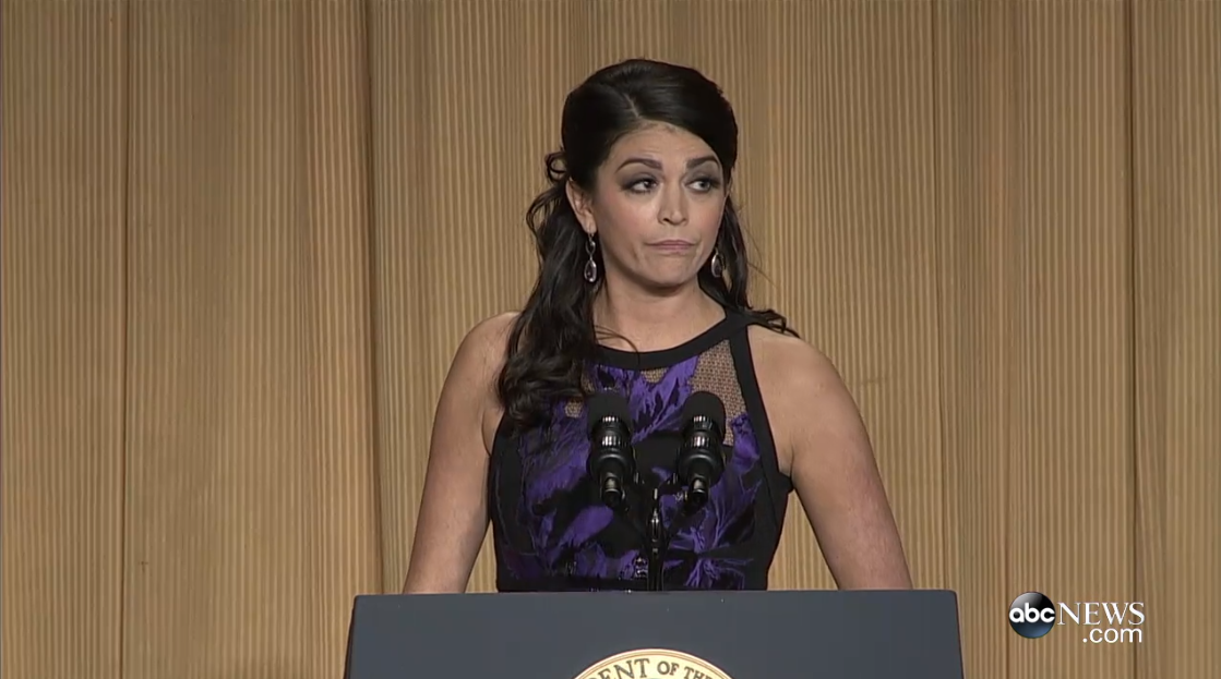 Watch:  Cecily Strong Remarks at the White House Correspondents Dinner