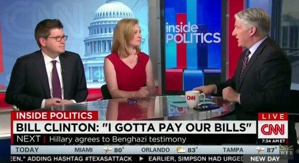 CNN Perplexed by Clinton's 'Numbingly Stunning' Gaffe on Six-Figure Speeches to 'Pay The Bills' (VIDEO)