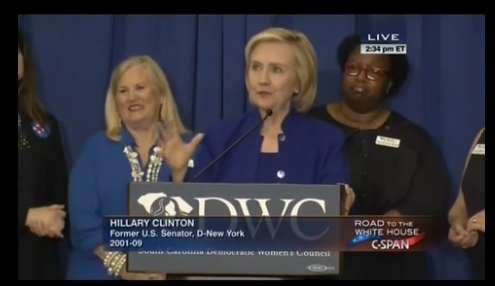 Hillary Clinton: 'You're Not Going to See Me Turn White in the White House' (VIDEO)