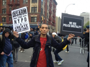 1500 March in New York Demanding Justice for Freddie Gray and Other Victims of Police Violence