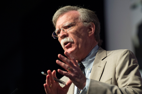 John Bolton Is Trying To Bend…
