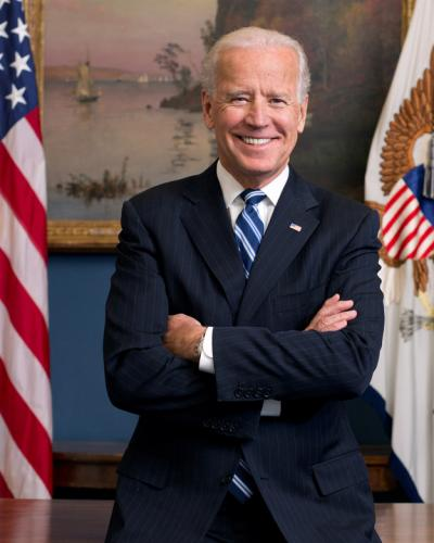 photo image See The New Official Portrait Of Joe Biden