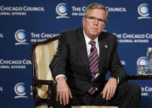 Jeb Bush Makes Vague First…