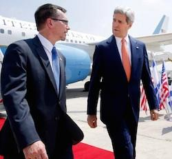 Kerry arrives in Israel for cease-fire…