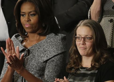 Woman Showcased by Obama in…
