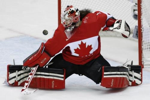 Goalie From Canadian Women's Olympic…